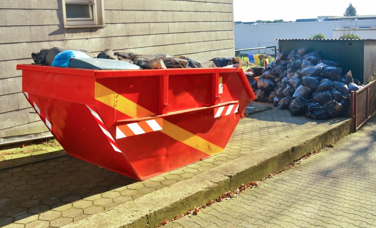 Afvalcontainer huren in omgeving Den Haag