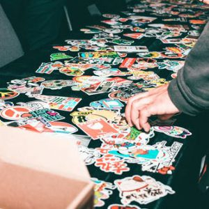 zelf stickers maken