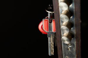 sleutel in het slot